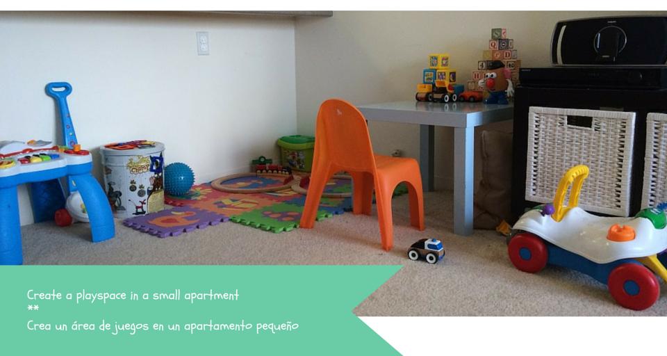 create a playspace || crea un área de juegos – Andrea Casals