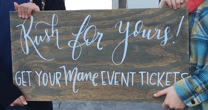 Chair signs bride and groom signs mr and mrs signs wedding